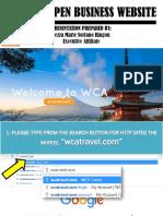 How to Open Website