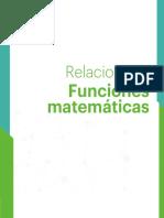 5 Relaciones y Funciones Matemáticas