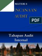 4. Perencanaan Audit