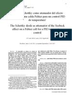 El Diodo Schottky Como Atenuador Del Efecto