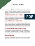 OS 10 SABOTADORES DO SEU SUCESSO.docx