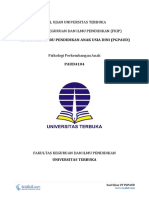 Download Soal Ujian UT PGPAUD PAUD4104 Psikologi Perkembangan Anak