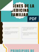 Origenes de La Medicina Familiar