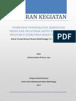 Ringkasan Materi Workshop Peningkatan Akreditasi Prodi Yang Diadakan Oleh Kopertis x