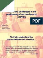 MKTG 4600 Presentation on Positioning and Brands