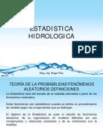 03 - Estadistica Hidrológica