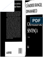 Capítulos de Sentença - Cândido Rangel Dinamarco