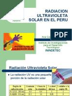 radiacion ultravioleta solar en peru