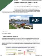 Los Principios Básicos de La Eficiencia Energética de Los Edificios