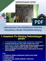 Materi Pelatihan KPSP