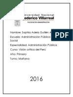 Univeridad Nacional Federico Villarreal