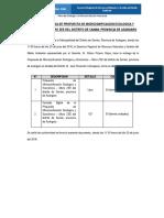 Acta de Entrega de Propuesta de Microzonificacion Ecologica y Economica