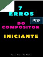 7 Erros Do Compositor Iniciante
