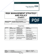 Risk Management Strategy and Policy - V3 5 - CG027