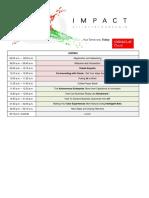 Oracle Impact Qatar Agenda