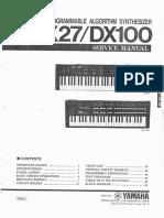 DX27 DX100 Service m