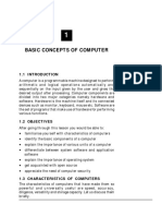 Basic Concepts of Computer
