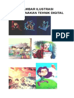 Gambar Ilustrasi Menggunakan Tehnik Digital