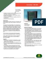 Fileshare Filarkivroot Produkt PDF Dokumentasjon Bc320 Ce