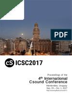 ICSC2017 Proceedings