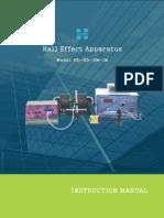 Hall Effect Detailed Manual Holmarc