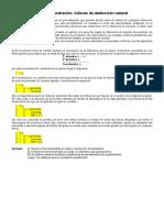 Cálculo y Reglas de Deducción Natural