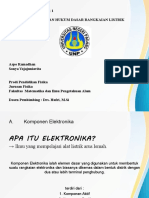 TUGAS KELOMPOK 6  KOMPONEN ELEKTRONIKA.ppt