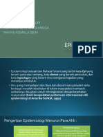 EPIDEMIOLOGI bab1