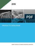 Catalogue_Data Logger and Sensors