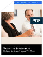 Effective Supervision Training Manual (2015) (2)