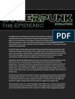 The Cyberpunk Evolution - The Epidemic