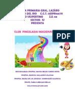 PROYECTO PINCELADAS MAGIDIVERTIDAS