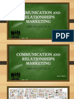 Communication and Relationships in Marketing - Villareal, Alona F.