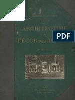 Architecture et décor des jardins