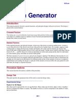 Design Generator