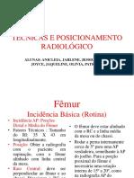 Tecnicas e Posicionamento Radiológico