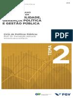 Leonardo Secchi Ciclo de Políticas Públicas