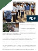 20-03-2018 Garantiza Astudillo Abasto de Agua Potable en Apango.