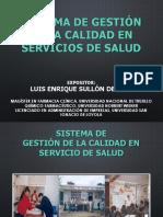 09.- Sistema de Gestion de La Calidad en Servicios de Salud