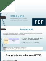 Protocolo HTTPS y SSH