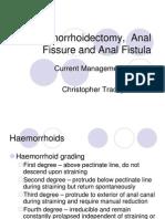 Hemorroids Anal Fissure and Fistula
