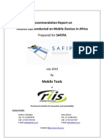 Mobility Futures Workshop Report With Mobility Capacity Building Needs Report as Attachment Public