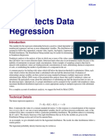 Nondetects Data Regression