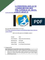 RPP BAHASA INDONESIA KELAS XI SEMESTER 1 EDISI REVISI 2018 LENGKAP PPK.docx