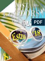 La Revista dels Lectors del QL - Estiu 2018