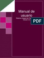 Manual de Usuario SIF