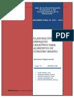 Informe Final Empresa Empaque Facil