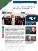 Fidelidad Al Papa