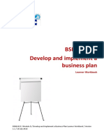 bsbmgt617a develop and implement a business plan assignment