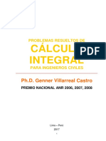 Libro Cálculo Integral Para Ingenieros Civiles (Problemas Resueltos)